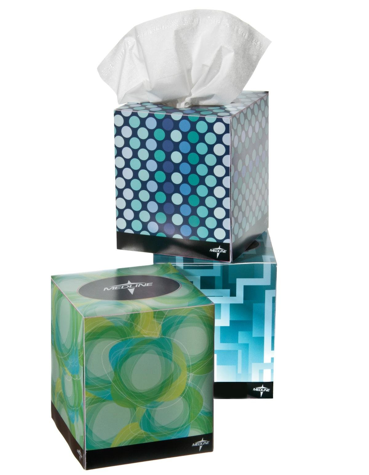 Medline NON245278 Premium Facial Tissues (Pack of 36)