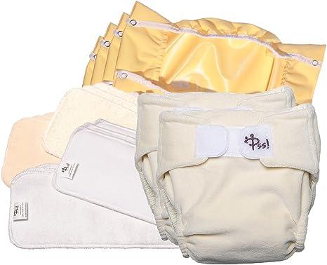 Pañales lavables ecológicos PSS! NATURE - Pañales de algodón con ...