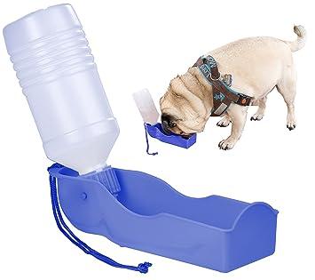sweetypet botellas para perros: dispensador de agua portátil para perros, incluye correa, 250 ml (- Carcasa para perro y gato): Amazon.es: Productos para ...