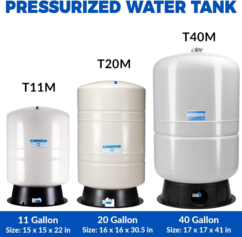 iSpring T20M Reverse Osmosis Storage Tank