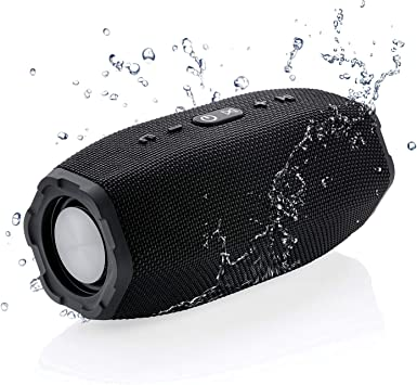 HD Sound and Bass Auxilliary 3.5mm for iPhone and Samsung FM Radio Alphasonik CHARM Wireless Bluetooth Portable Speaker with Digital LED Alarm Clock SD card Auto and Manual Dimmer Micro USB