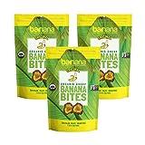 Organic Original Chewy Banana Bites - 3.5 Ounce