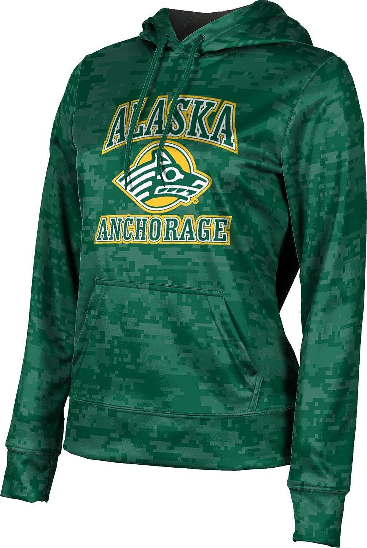 ProSphere University of Alaska Anchorage Girls' Pullover Hoodie - Digital