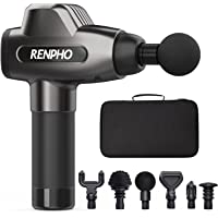 Renpho Massage Gun, C3 Deep Tissue Muscle Massager, Powerful Percussion Massager Handheld with Portable Case for Home…