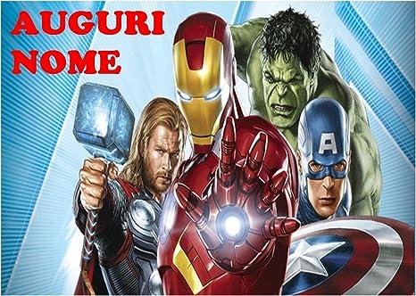 Avengers Marvel Iron Man Captain America Hulk Thor Waffel In