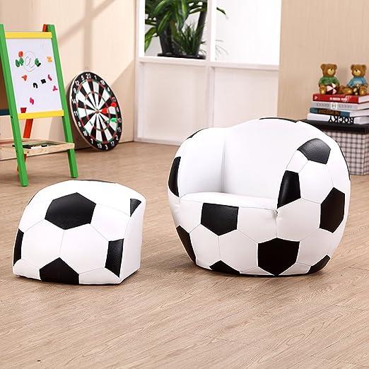 Costway Kids niños Asiento Silla balón de fútbol Fútbol Conjunto ...