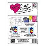 """Shades Textiles Soft Fuse Premium 8x9"""" Pkg 10pc Pkg10 Piece"""