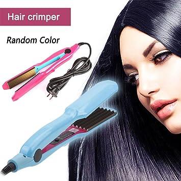 Amazon com: Kinbelle Hair Crimper Crimping Wave Iron Ceramic