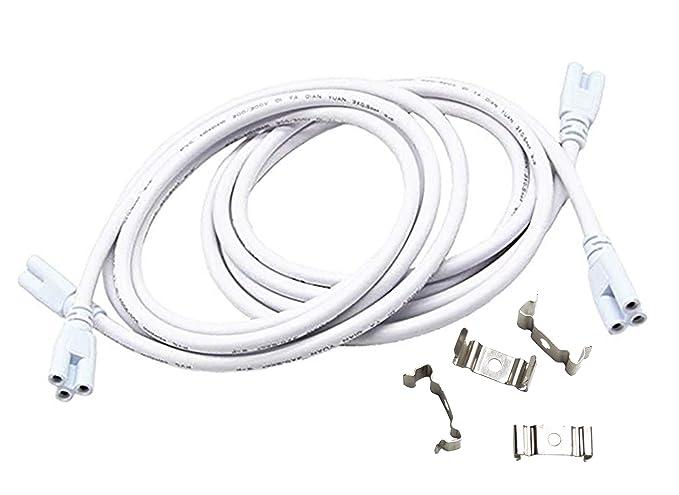 CERRXIAN T5 T8 Cable de conexión de lámpara LED, luces de ...