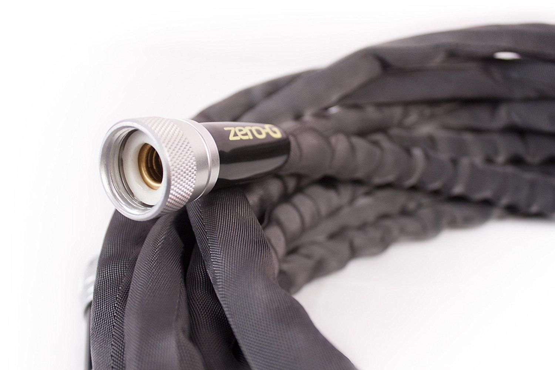 Zero-G 5/8'' x 50' Lightweight, Heavy Duty, Kink Resistant Garden Hose