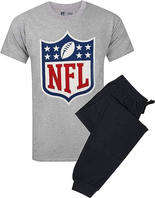 Conjunto de Camiseta de Pijama y pantalón Lounge con Juego de fútbol Americano: Amazon.es: Ropa y accesorios