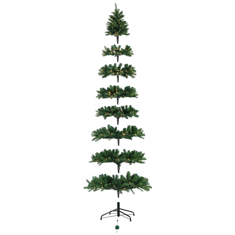 Amazoncom Ultima 65 Artificial Christmas Tree, 520 Dual Color Led Multi Function