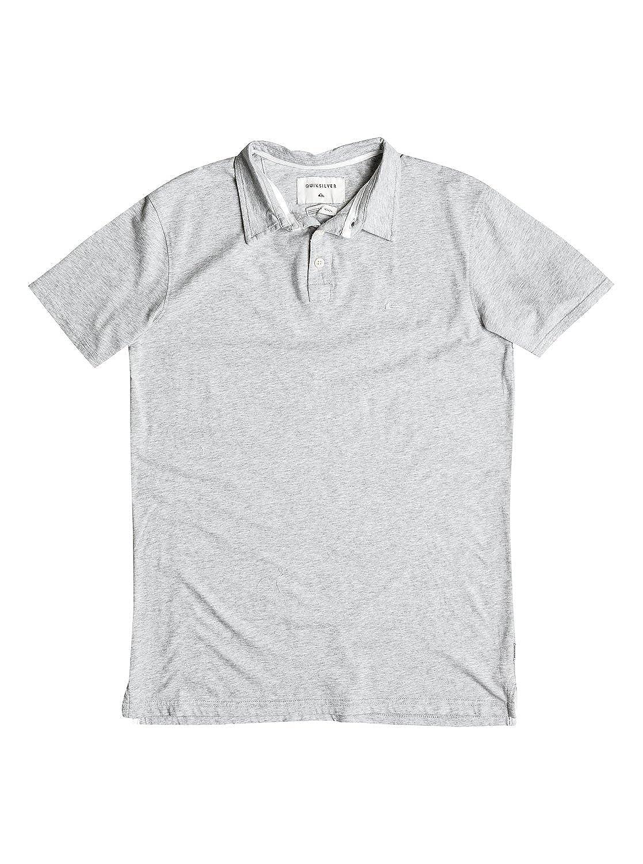 Quiksilver Varones Camisa Polo - Gris -: Amazon.es: Ropa y accesorios
