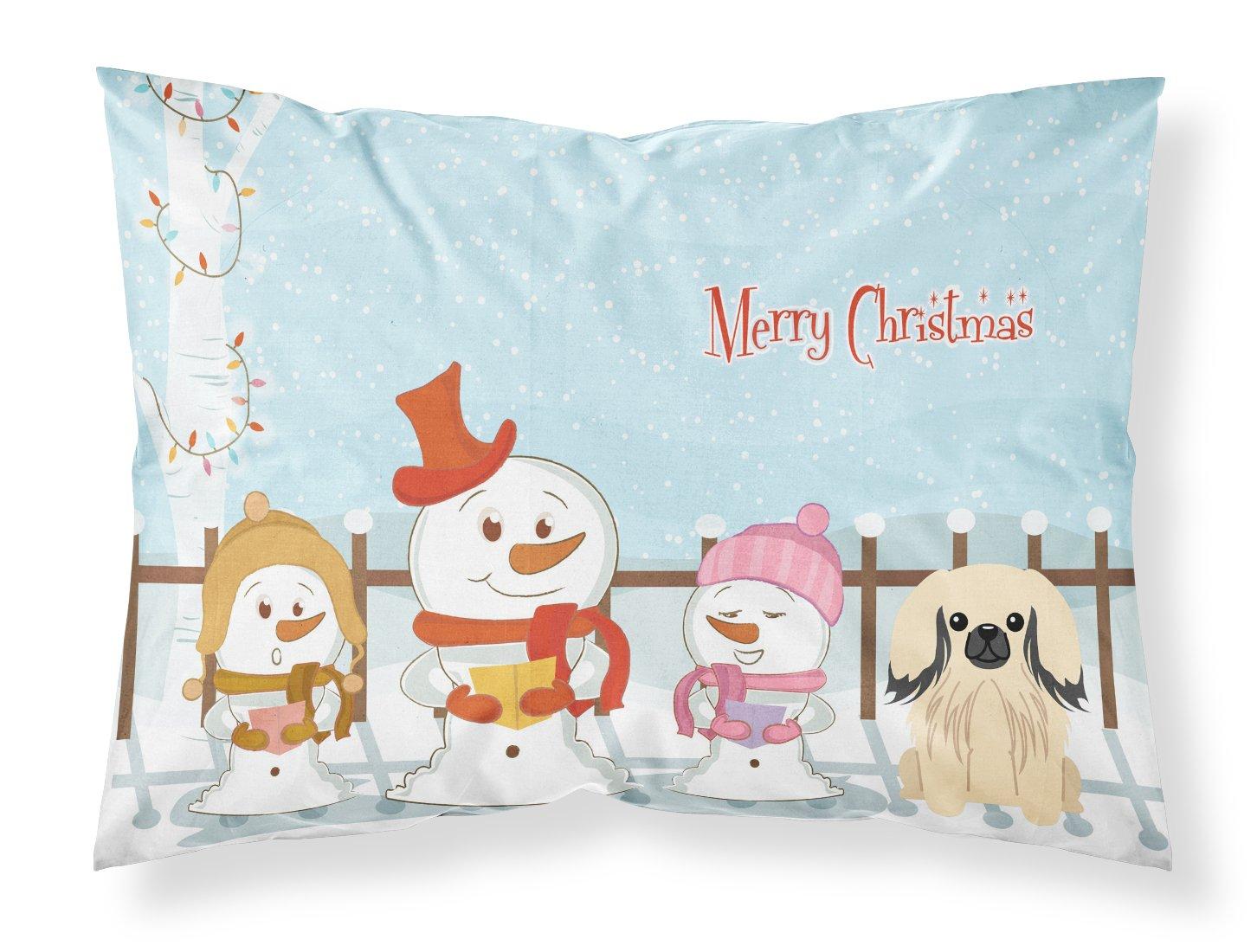 Carolines Treasures Dog House Collection Brittany Spaniel Fabric Standard Pillowcase BB2826PILLOWCASE,