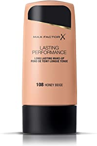 Lasting Performance Make Up by Max Factor Honey Beige 108 35ml