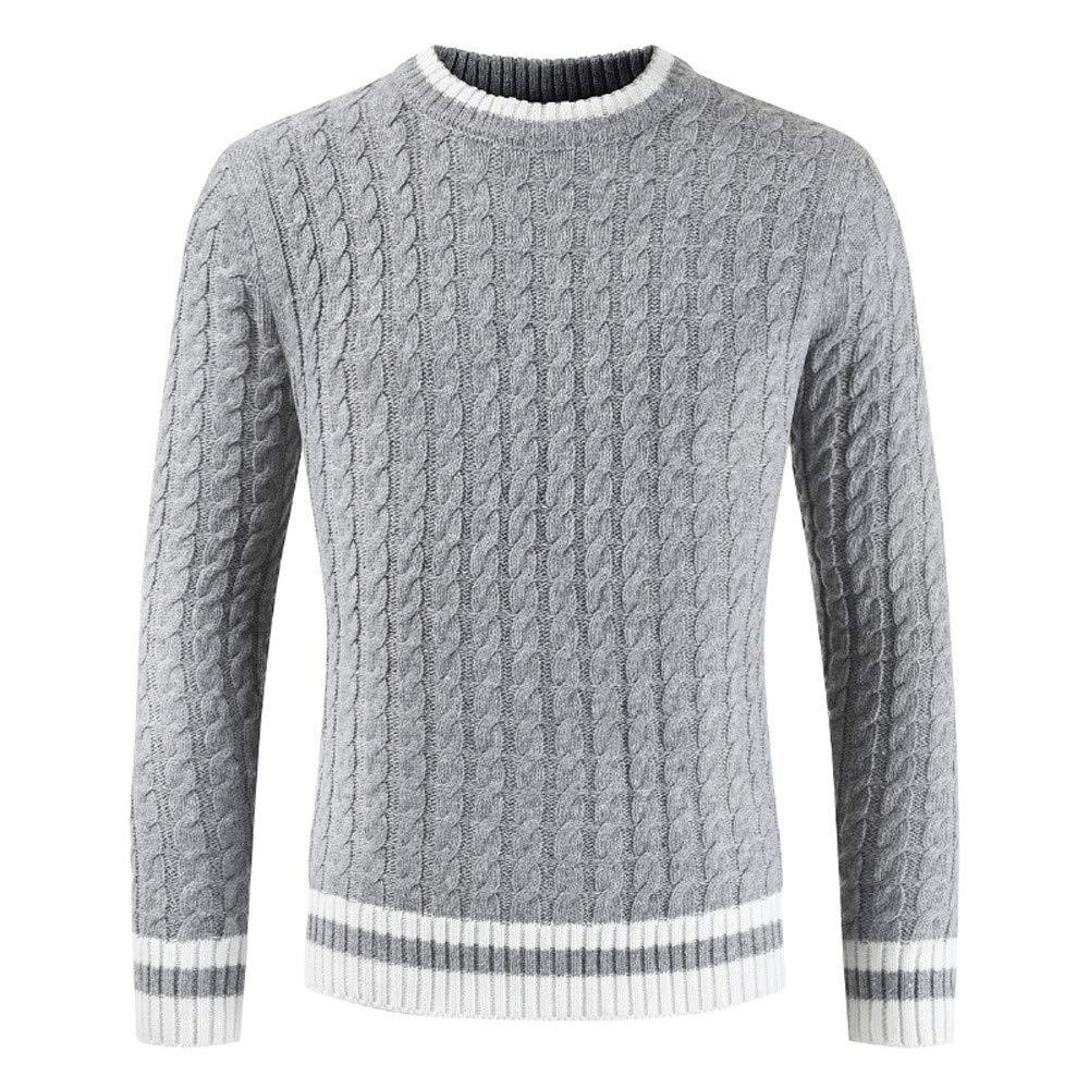 Homme Pull à Col Rond DéContracté Style Britannique Pullover Tricot Slim Pas Cher à La Mode Chic Chemisier Pin Up Tops Hiver Chaud Sweater Susenstone-A-312-0831