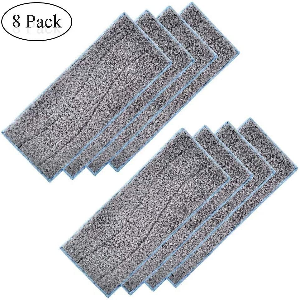6110 GIB cleaningtool Replacement Mopping Pads for iRobot Braava Jet M6 Washable and Reusable Pads Multi-Pack 4 Wet Pads and 4 Dry Pads