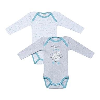 39ef0c190eadc Absorba - Body - Manches Longues - Bébé (garçon) 0 à 24 mois - gris ...