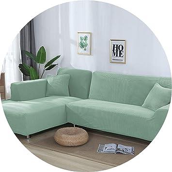 Astonishing Amazon Com Little Kiwi 2 Pieces Covers For L Shaped Sofa Machost Co Dining Chair Design Ideas Machostcouk