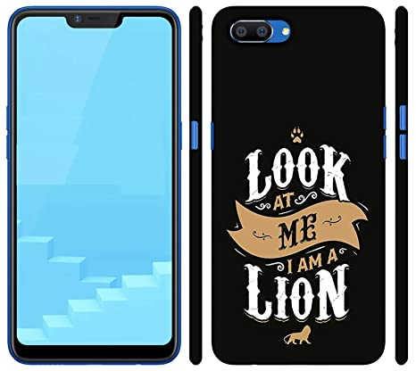 new products 7f176 79295 we make print Back Cover for realme c1 3D Printed Hard: Amazon.in ...