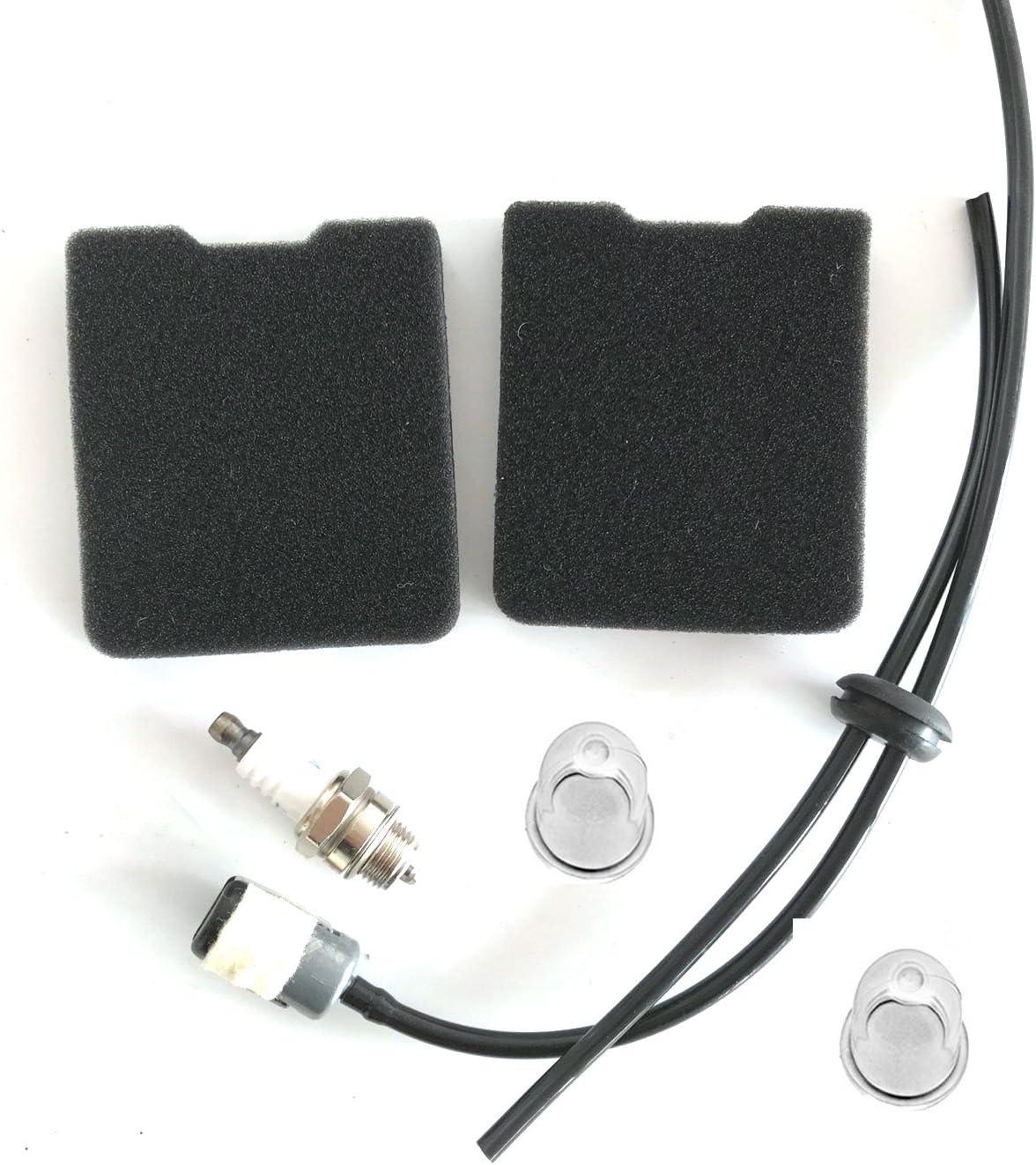 Tuneup Service Kit Fuel Line For HUSQVARNA 145BT 155BT 145BF 53100443 Air Filter