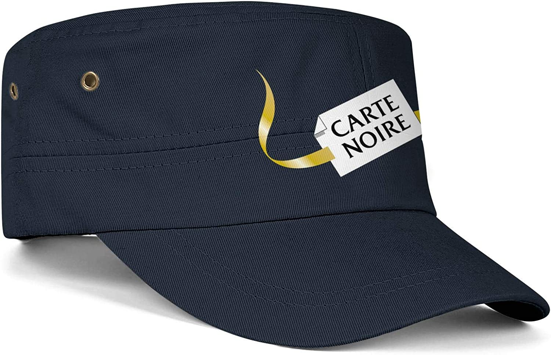 Carte-Noire-Logo Army Cap Youth Printed Blitzing Tennis Hat Men Women