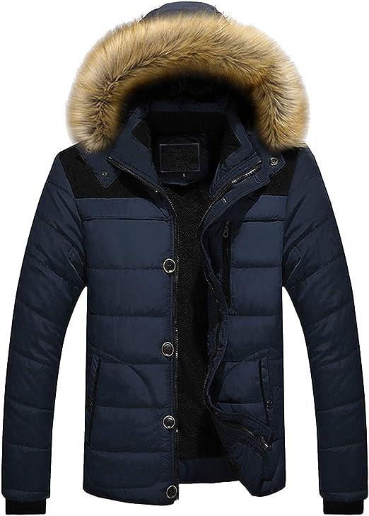 コート アウター メンズ 4カラー M~5XL ピュアカラー ダウンジャケット ボタン付き フード付き 暖かい お洒落 上着 登山 保温 アウトドア 冬 屋外作業服 防寒対策