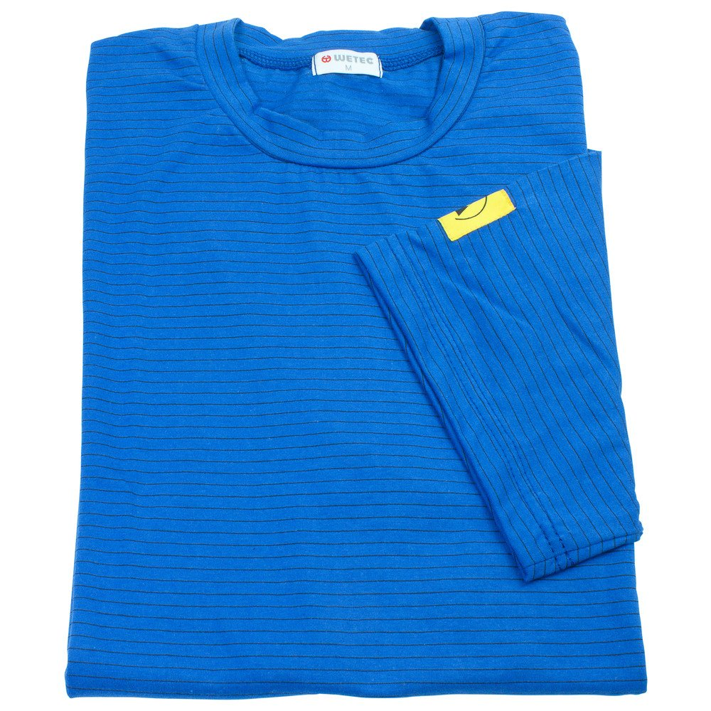 blau XXXL Wetec ESD-T-Shirt