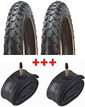 MSR RMS - 2 neumáticos para Bicicleta, 14 x 1, 3/8-1, 5/8 + ...