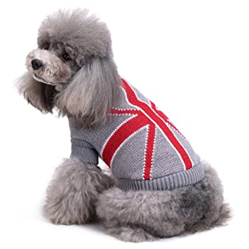 Pet Sweater, Thickening Knitted Pet Ropa para perros pequeños Warm Vest Chest Protector Turtleneck Fashion