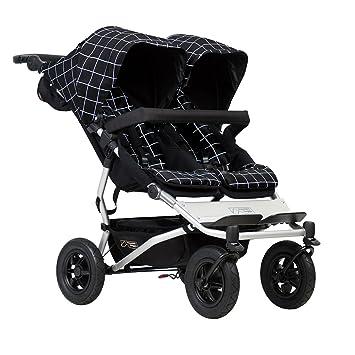Mountain Buggy Duet Buggy V3 - Silla de paseo doble con ruedas, color gris: Amazon.es: Bebé