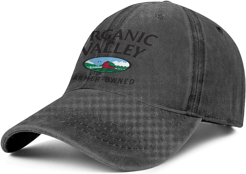 s003tymcch Organic Valley Logo Men Womens Luxury Trucker Cap Fishing Horsetail Caps