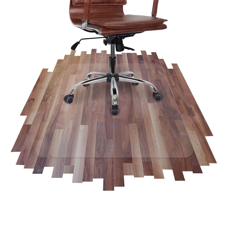 Office Marshal Tappeto salvapavimento pavimenti duri | Salvaparquet | Policarbonato | Trasparente | diverse misure, 75x120 cm