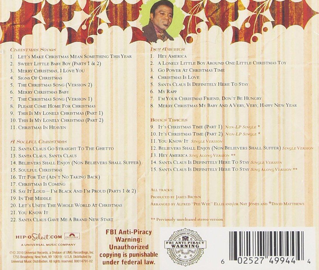 James Brown - The Complete James Brown Christmas - Amazon.com Music