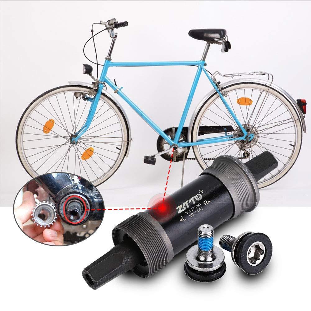 BSA-Innenlager Bike Square Taper Bottom Bracket for Fat Snow Bike 80142 100155 100177mm VGEBY1 Bottom Bracket