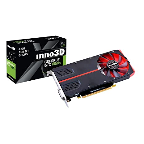 Inno3D N105T2-1SDV-M5CM - Tarjeta gráfica (GeForce GTX 1050 ...