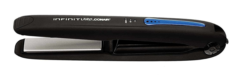 Conair Infiniti Tourmaline Ceramic Cordless Mini Flat Iron, Tourmaline ¾ inch