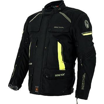 Richa Atacama GTX Gore-Tex impermeable chaqueta de Moto textil - Amarillo: Amazon.es: Coche y moto