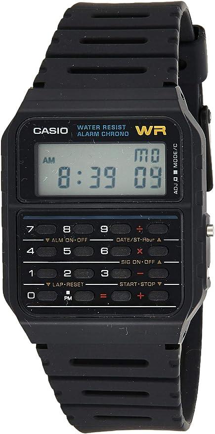Casio Herren Uhr mit Taschenrechner CA 53W 1