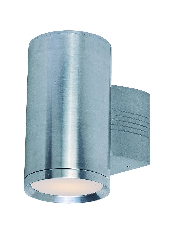 Maxim 6101AL Lightray 1-Light Wall Sconce, Brushed Aluminum Finish ...