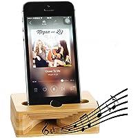 Fanshu Sound Louder Cell Phone Holder (Wood)
