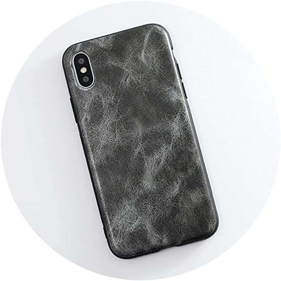 4ae179b3c4caa Case for iPhone 7 8 Plus Cases PU Leather Case Soft Silicone Cover for  iPhone X