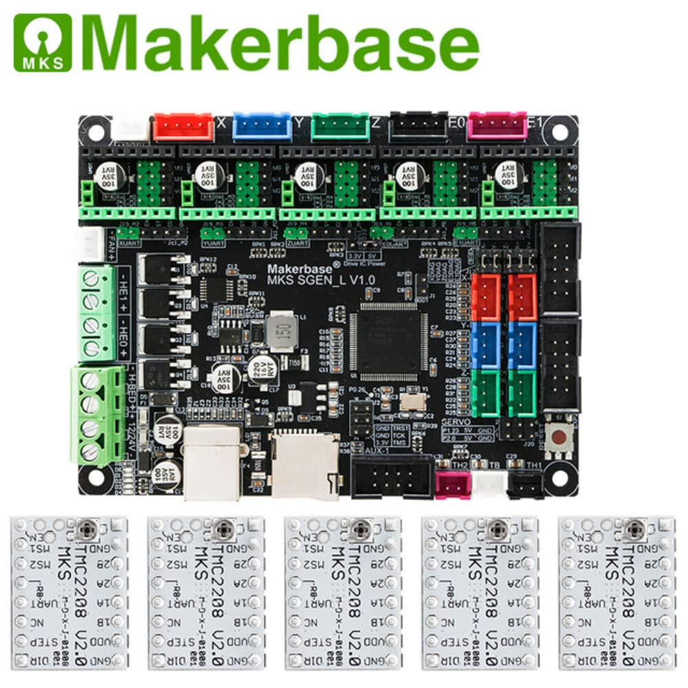 Amazon.com: Beshine 3D Printer Board MKS SGen_L 32-bit ...