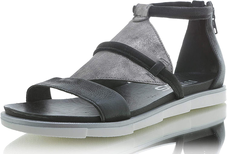 Mjus Sandale Antikleder schwarz Katana 740005-0103-6002