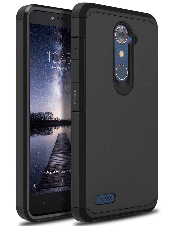 info for 980ed abbe8 ZTE ZMAX Pro Case, ZTE Zmax Duo LTE Case, ZTE Blade X Max Case, OTOONE  [Slim] Dual Layer Heavy Duty Protection Silicone Matte Cover for ZTE Grand  X ...