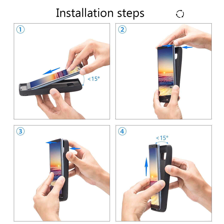 PEYOU Funda Batería para Samsung Note 8, Ultra Delgado ...