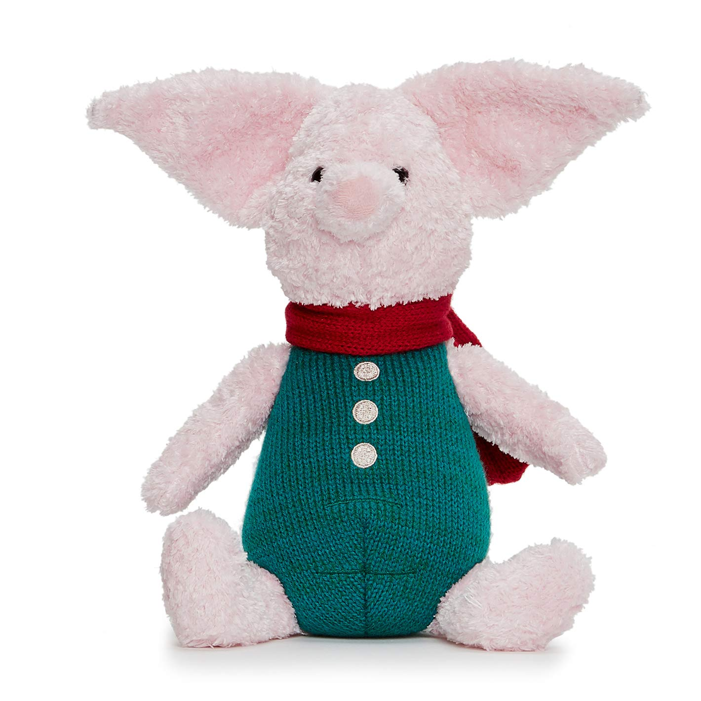 Disney Christopher Robin Collection Winnie The Pooh Piglet Soft Toy - 25cm by Posh Paws