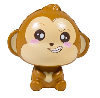 Amazon.com: Puni Maru bebé CHEEKI Scented Squishy Silly Face ...