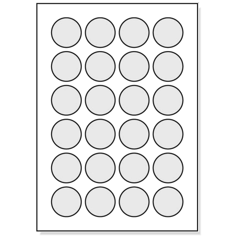 Runde Etiketten 40 Mm Durchmesser 2400 Markierungspunkte