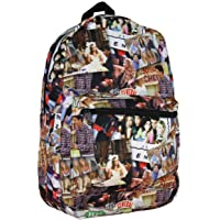 Friends TV Show Scenes All Over Collage Sublimated Print Backpack Bag